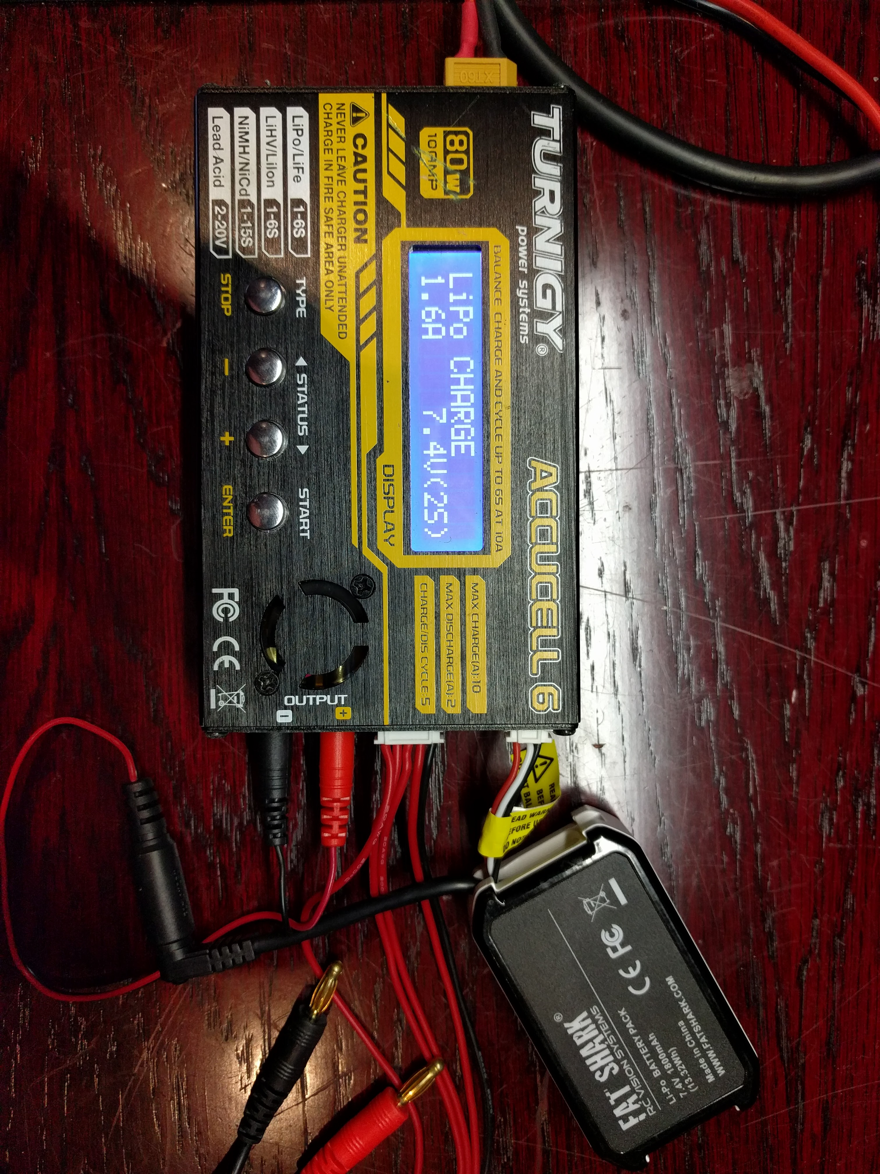 How To Charge The Fatshark Battery 74v 1600mah Properly Phaser Fpv Fat Shark Camera Wire Diagram Img 20160615 221740