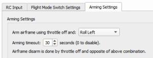 openpilot_arming_settings